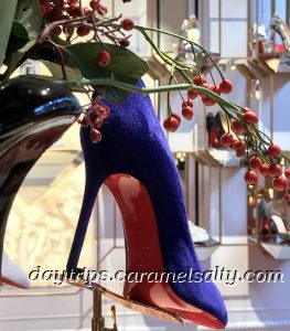Up Close to A Christian Laboutin Shoe