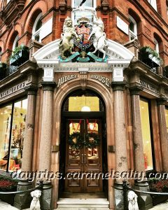 James Purdey & Sons Entrance at Mount Street