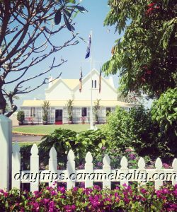 The Wooden Colonial Looking Govenrnment House in Darwin