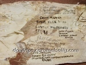 Autographs of Pilots Found At the Victoria Hotel in Darwin