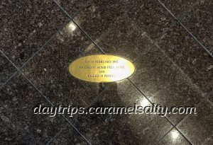 Plaque To Commemorate the 10 People Killed When a Bomb Hits Darwin's Post Office