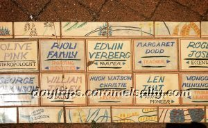 Painted Tiles to Commemorate 200 Territorians
