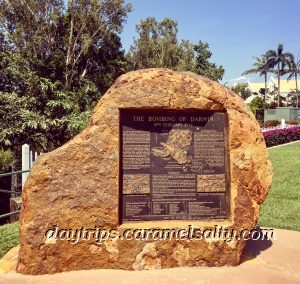 Near Survivor's Lookout Is A Memorial About the Bombing of Darwin