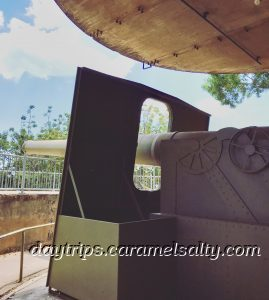 A Gun Emplacement At the Darwin Military Museum