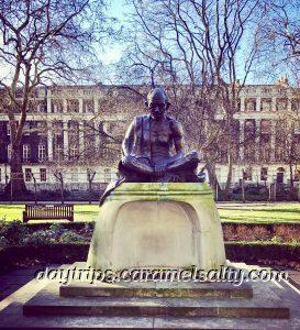 Mahatma Gandhi Statue in Tavistock Square