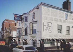 The Salisbury Arms Hotel on Hertford's High Street