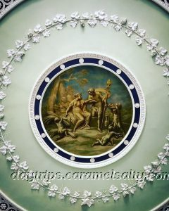 Robert Adam's Art on the Ceiling at Kenwood House