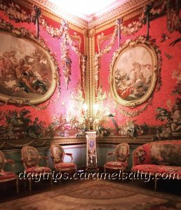 The Rosy Pink Tapestry Room at Osterley House
