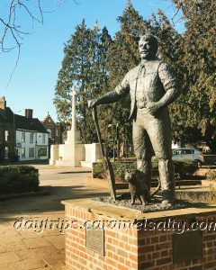 The Maltster Statue at Ware