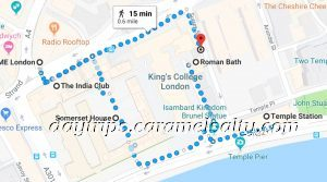 My Route Around Somerset House