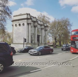 Marble Arch Roundabout Is Where The Hamlet Of Tyburn Was