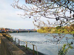 Barnes Railway Bridge In The Distance