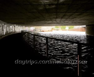 In the A11 Underpass Along the River Lea