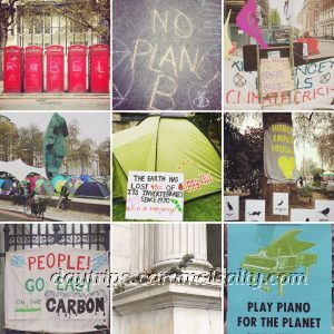 Extinction Rebellion at Marble Arch