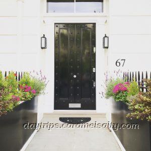 A Black Door in Belgravia