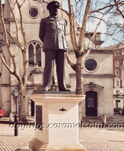 "Statue of Arthur ""Bomber"" Harris Outside St Clement Danes"