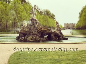 The Fountain of Love With Cliveden In The Backgroun