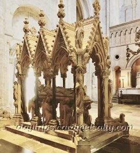 Bishops and Kings Are Buried In Winchester Cathedral