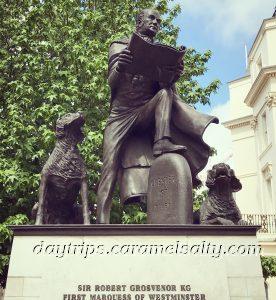 Statue of Sir Robert Grosvenor At Belgrave Square