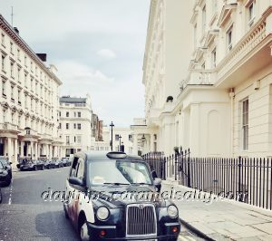 Eaton Place in Belgravia