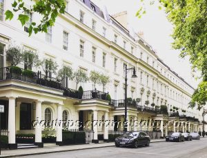 A Desirable Street In Belgravia