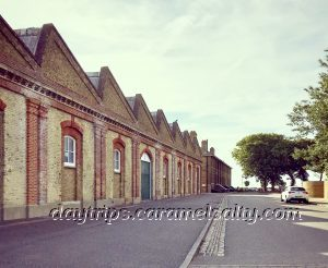 Gunnery Drill Sheds at The Garrison In Shoeburyness