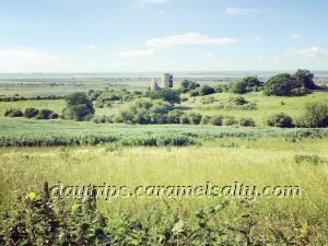 Views Of Hadleigh Castle From Park Farm