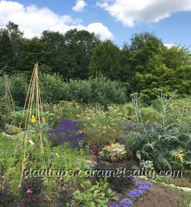 The Walled Garden At Hughenden Manor