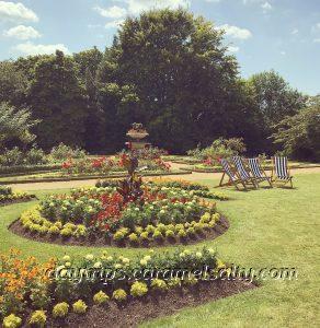 The Parterre At Hughenden Manor