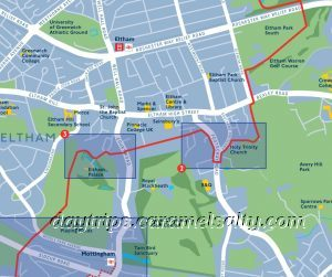 The Green Chain Walk Route