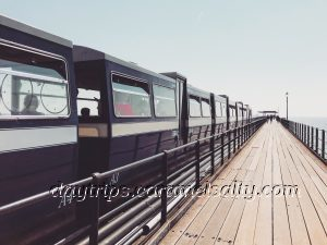 The Pier and Train At Southend_On-Sea's Pier