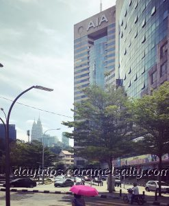 The AIA Tower Along Jalan Ampang