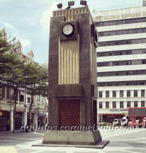 The Clock Tower At Medan Pasar, Kuala Lumpur