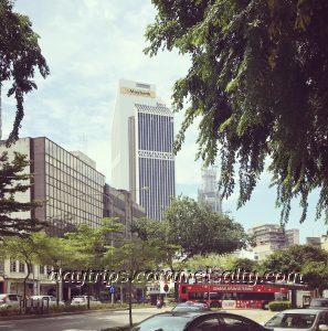 The Keris Shaped Maybank Tower
