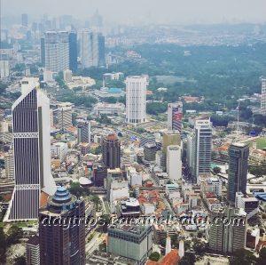 View of Kuala Lumpur From Bukit Nanas