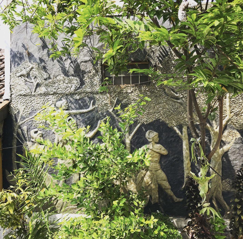A Mural Under A Srikaya Tree