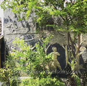 A Mural Under A Sweetsop Tree