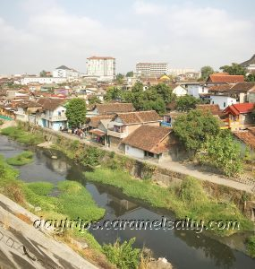 Kampong Jugoyudan From Jalan Prau