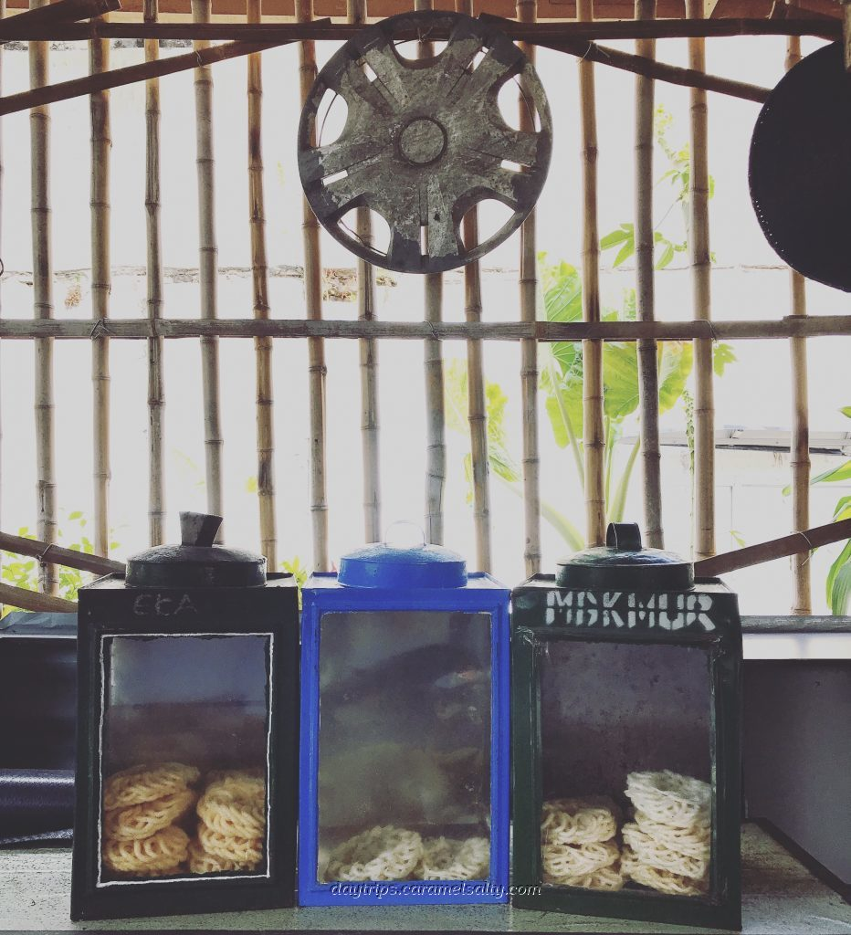 Biscuit Tins Inside A Village Cafe