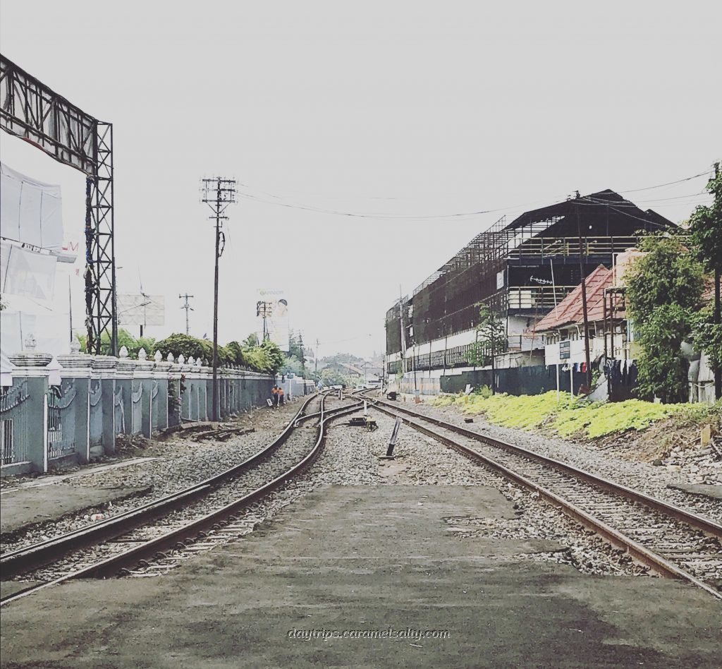 The Rail Line That Cuts Through Jogjakarta