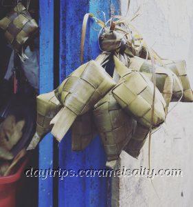 Bayu Basket Hanging on A Front Door