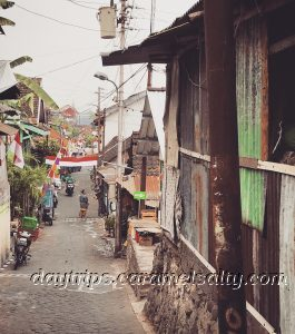 A Village Street in Indonesia