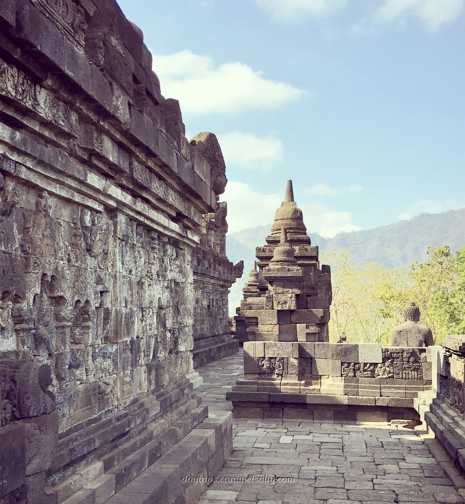 One of the Levels At Borobodur