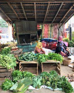 Market In Borobodur