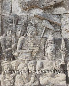 Stone Reliefs at Borobodur