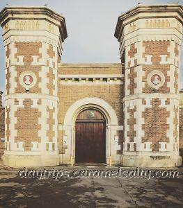The Grade II Gates of Wormwood Scrubs