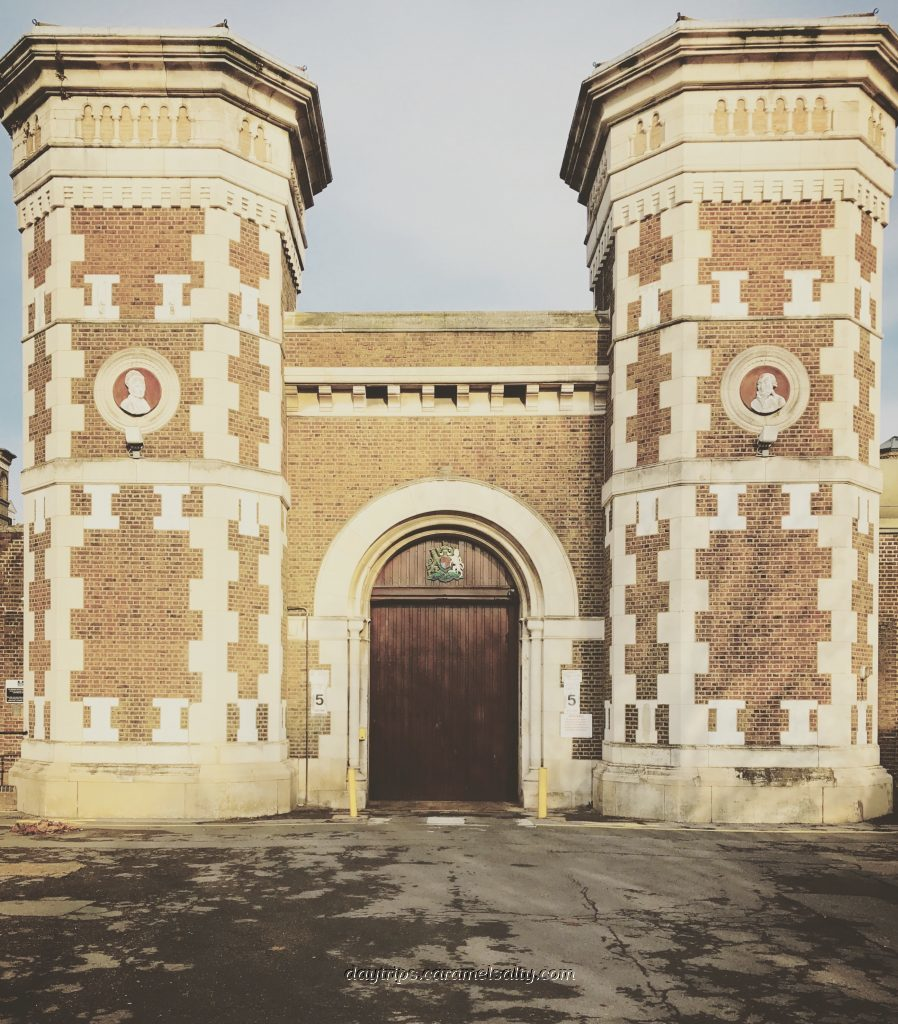 The Grade II Gates of Wormwood Scrubs
