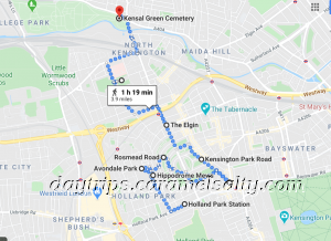 My Route Around Posh Notting Hill