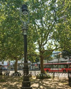 The Old Gas Lamp At Shepherds Bush Green