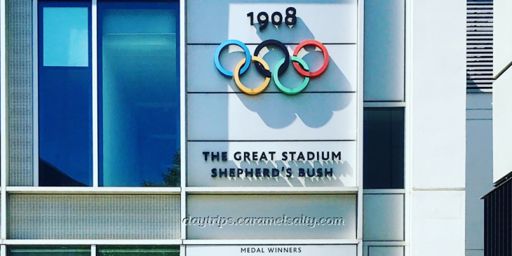 The 1908 Olympics Rings at White City